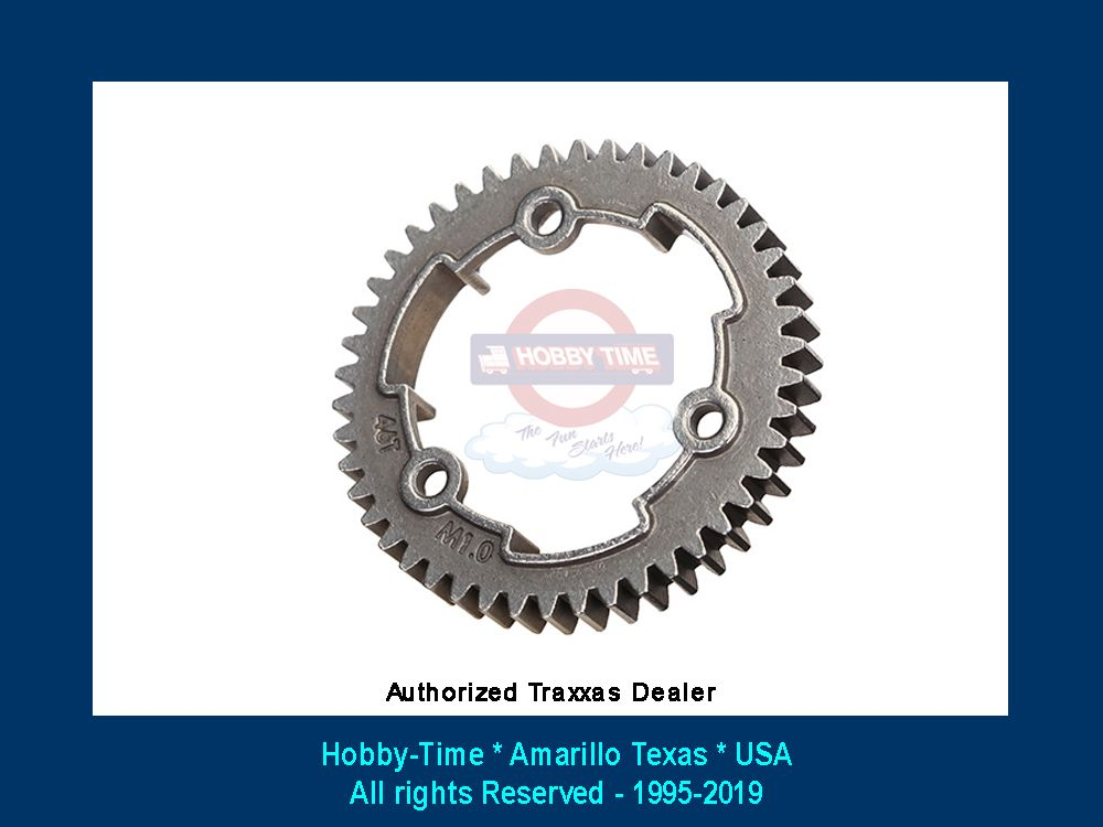 Traxxas 54 Tooth Spur Gear 6449 TRA6449 1.0 Metric Pitch